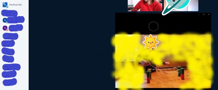 Schülervorträge im Videochat