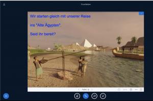 Neue Lernräume entdecken - mit Google Expedition und Co. im Videochat