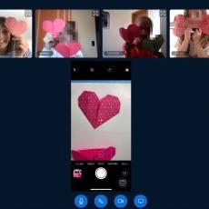 Herzen und Hemden – Origami im Videochat