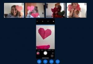 Herzen und Hemden - Origami im Videochat